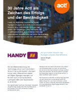 Act! Software – Handy AV